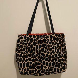 vintage kate spade zebra purse